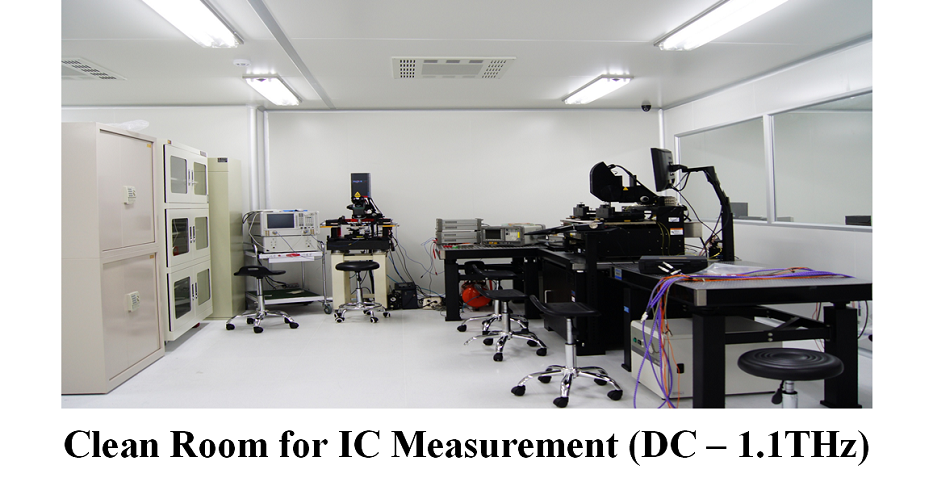 Clean Room for IC Measurement (DC – 1.1THz)