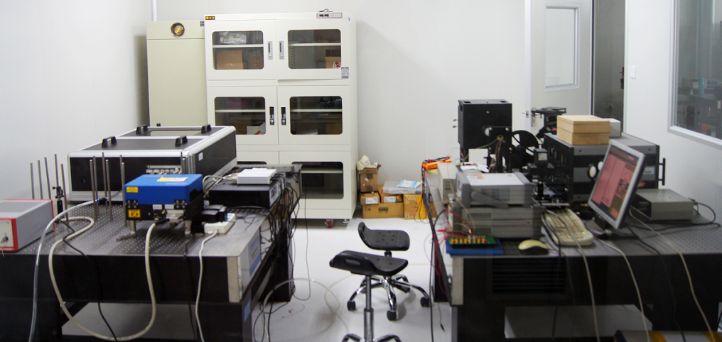 Time Domain Spectroscopy Test System (0.1-3.5THz)